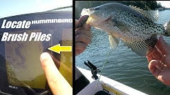 How to Find Crappie and Brush piles on NEW Lakes
