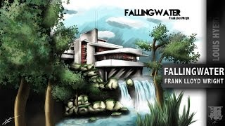 Fallingwater, Architecture Speed Painting #1