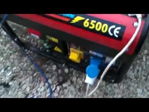 Charging A Reva G-wiz On A Generator (G-wiz Hybrid...?)