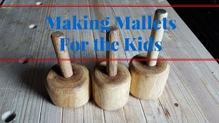 Making Mallets For The Kids From An Elm Tree