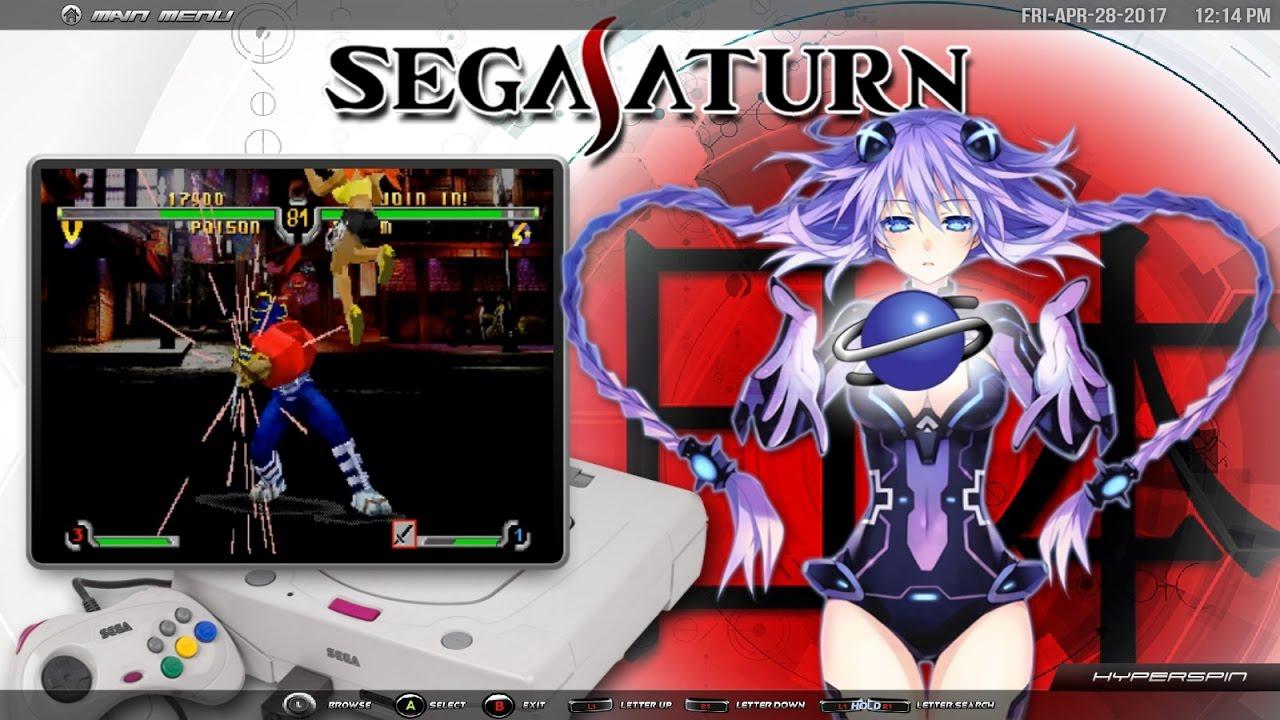 Hyperspin Sega Saturn Japan 375 Games Youtube