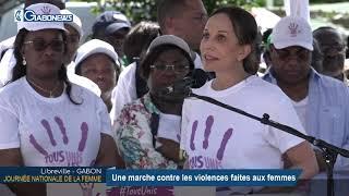 GABON /JOURNÉE NATIONALE DE LA FEMME : Une marche contre les violences faites aux femmes