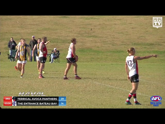 2019 HCCAFL Black Diamond Plate Round 9 Highlights - Terrigal Avoca Panthers v The Entrance Bateau B