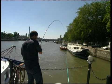 Fishing In The Seine At Paris