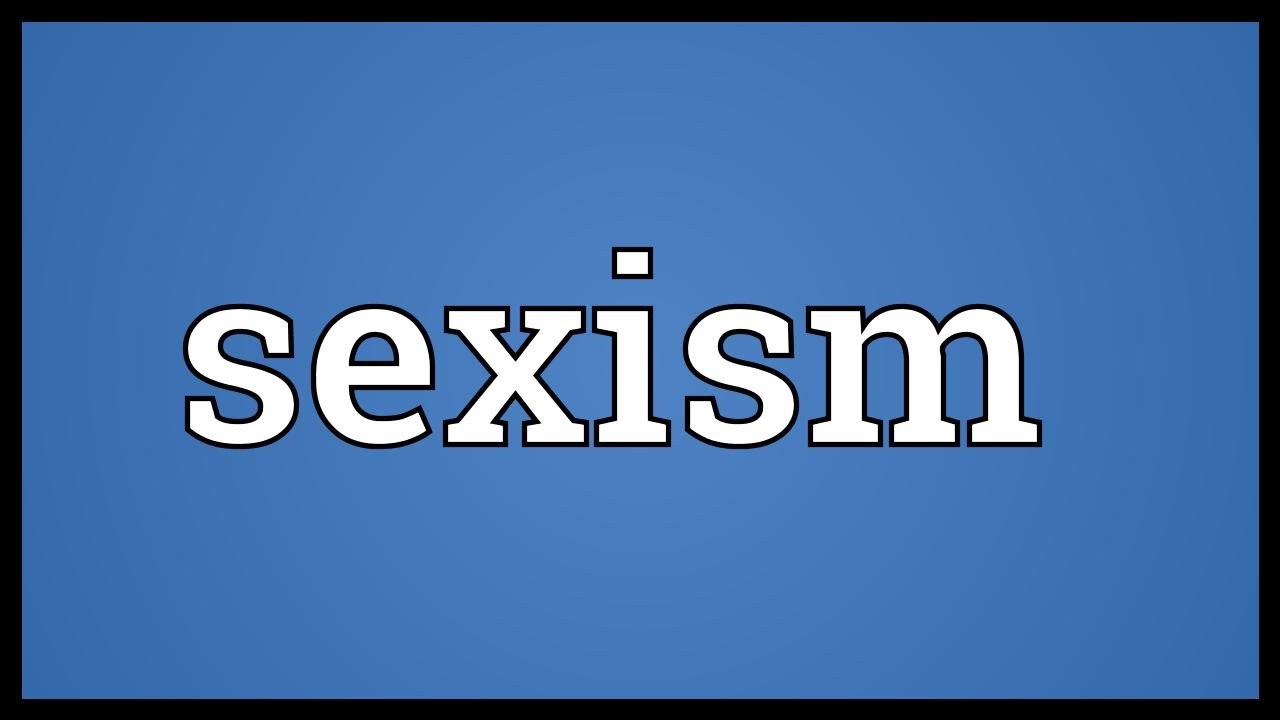 Definition of sexism Nude Photos 98