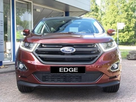 2017 Ford Edge Sport 2 0tdci 210pk 4wd Powershift Full Review