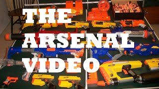 Bazookafied's Nerf Arsenal