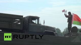 Russia: Nations join forces in military exercises