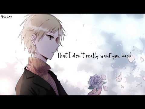 「Nightcore」→ I Don't Want You Back