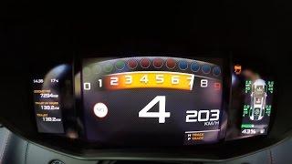 0-215 km/h - New McLaren 540C Acceleration