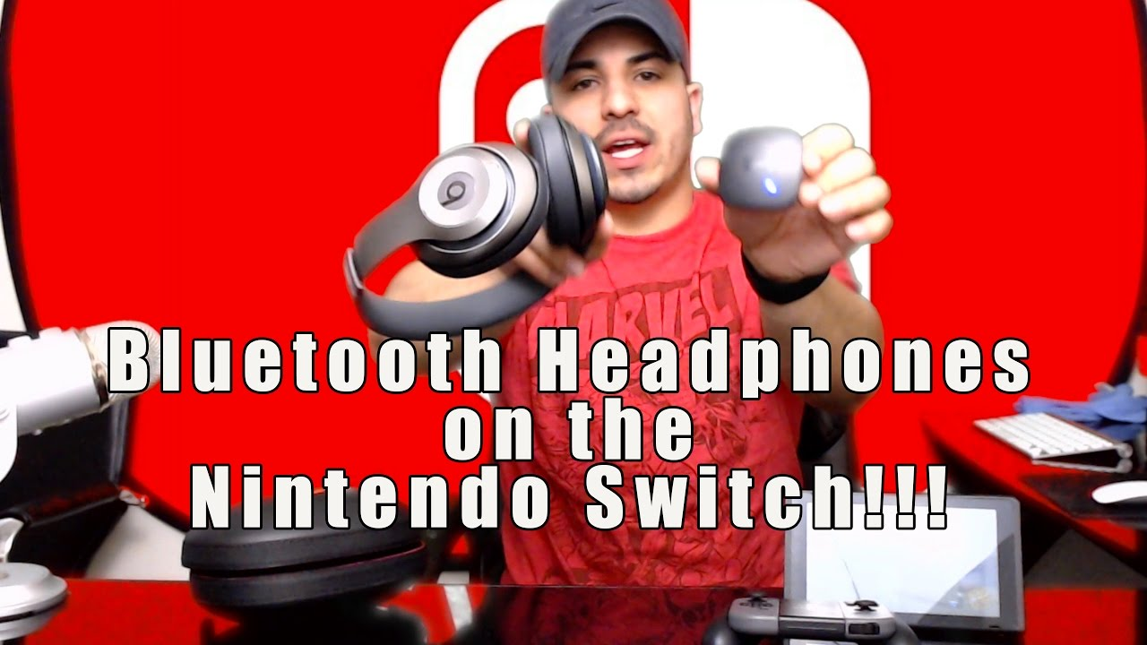 how to use your bluetooth headphones on the nintendo switch youtube. Black Bedroom Furniture Sets. Home Design Ideas