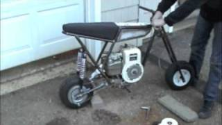 Built From Scratch Mini Bike
