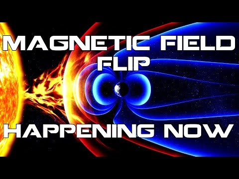 Earth's Magnetic Flip is happening now. Be prepared!