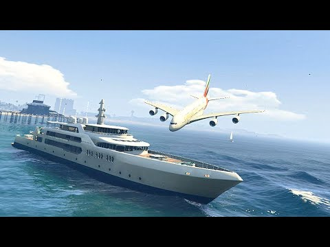GTA 5 - Amazing\terrible PLANE CRASH Compilation #4 (GTA 5 crazy moments)...