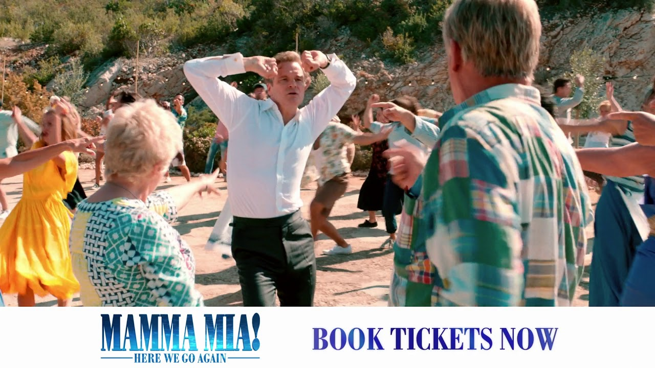 Mamma Mia! Here We Go Again - In cinemas Friday - YouTube