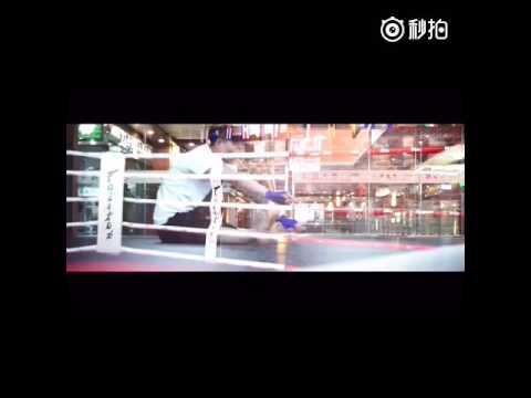 Vespa Miller boxing