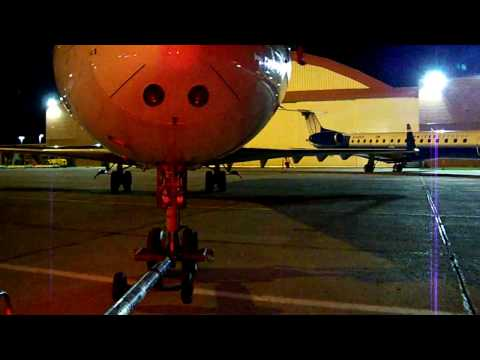 Pushback and Tow of an US Airways CRJ-200