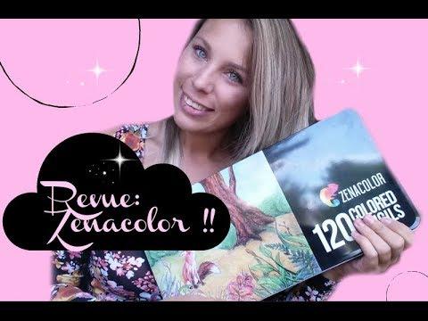 Revue 3 Les Crayons Zenacolor Coloriage Anti Stress Youtube