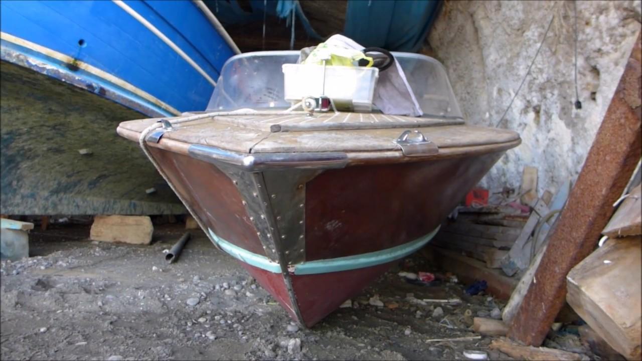 Vintage Riva Boat Restauration In Italy