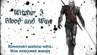 Комплект Школы Кота. Ведьмак 3.