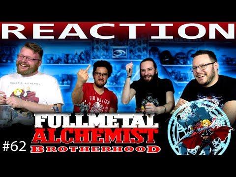 "Fullmetal Alchemist: Brotherhood Episode 62 ""A Fierce Counterattack"""