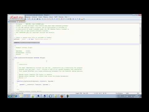 Создание плагина Joomla. часть 1