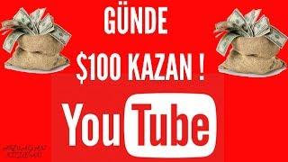 Günde $100 Youtubeden Kendiniz Video Çekmeden Kazanın | İnternetten Para Kazanma
