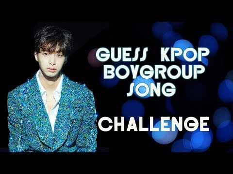 Guess Kpop Song Challenges