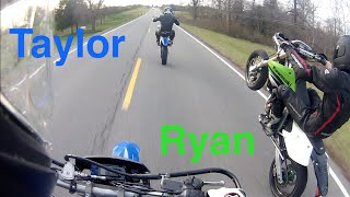 Taylor, Ryan, and Some Long Wheelies