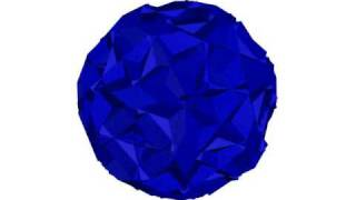 20 First Brillouin Zones Of The Face Centered Cubic Crystal