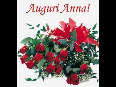 Buon Compleanno Anna Youtube