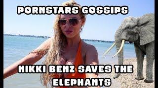Nikki Benz saves the elephants