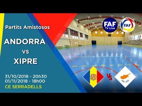 Andorra vs Xipre (Futsal)