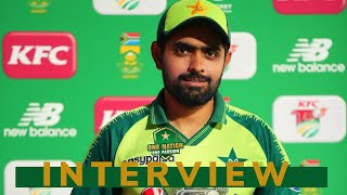 Babar Azam interview after 3rd T20I | Pakistan tour of South Africa 2021