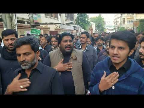 8th RabiUlAwwal 1439, Juloos e Aza, Nishter Park, Karachi