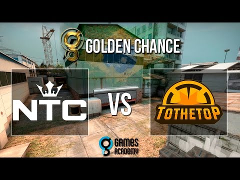 [POV] Golden Chance #1 - NTC vs. To The Top (Mapa 2 - Cache) - Semi-Final