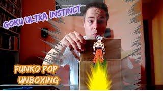 Goku Ultra  Instinct  Funko pop Unboxing
