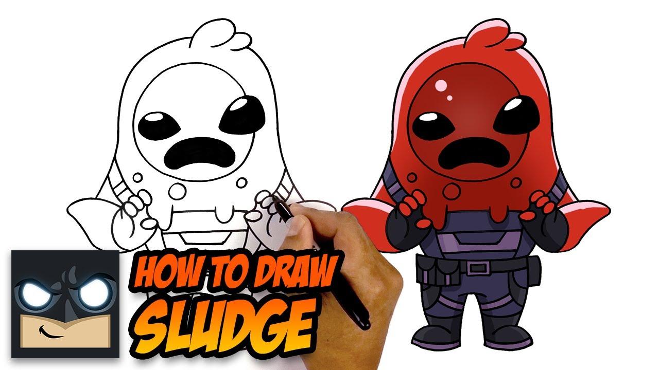 How To Draw Sludge Fortnite Season 11 Skin