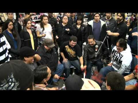 Canadian Aboriginal Festival 2011. Drum song.