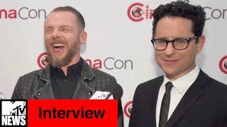 J. J. Abrams & Simon Pegg Talk Sci-Fi at CinemaCon   MTV News
