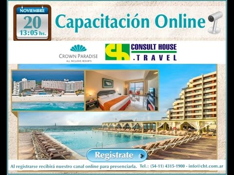 Crown Paradise All Inclusive Resorts y Consult House Travel