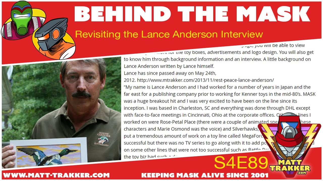 Revisiting the Lance Anderson Interview - S4E89