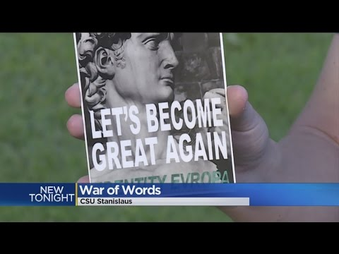 Pro-White Advocacy Group's Fliers Sparks Backlash At Central Valley College