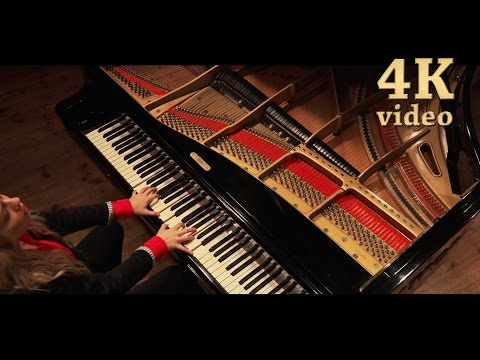 Chopin ocean etude op 25 no 12 [4K/HD] Anastasia Huppmann