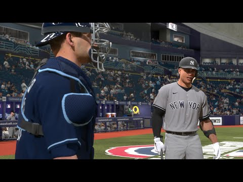 MLB The Show 20 Today | New York Yankees Vs Tampa Bay Rays Full Game 3/31/20