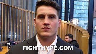 "GROVES TRAINER MCGUIGAN WARNS CHRIS EUBANK JR. ""I'VE SEEN THE SPARRING"" AND MIND GAMES WON'T WORK"