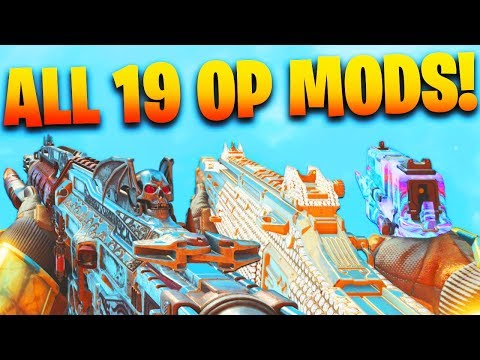 Using EVERY OPERATOR MOD In Black Ops 4 In 1 Game!