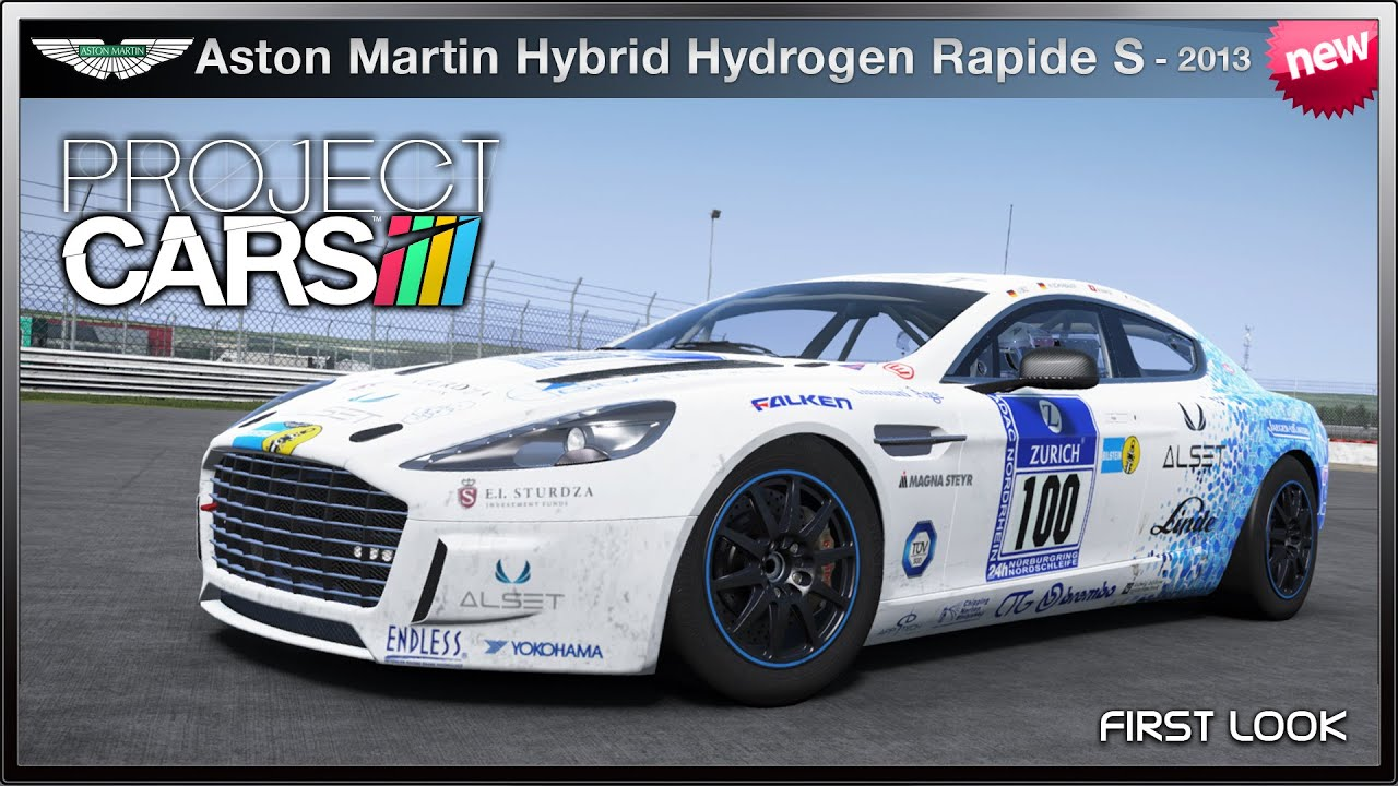 Project Cars New Aston Martin Hybrid Hydrogen Rapide S 13 First Look You