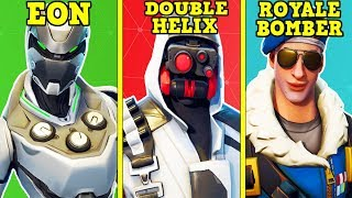 FAN GIVES ME HIS EXCLUSIVE FORTNITE ACCOUNT! (Royale Bomber, Eon & Double Helix!)