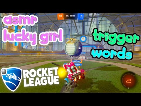 ASMR Gaming 🍀 Rocket League Relaxing Repetitive Trigger Words + Mouth Sounds 🎧 Controller Clicking 💤